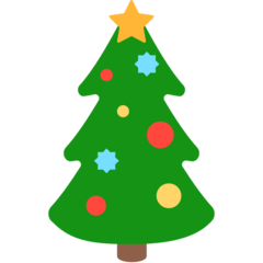 Christmas Tree Emoji Christmas Tree Clipart Tree Emoji Classic Christmas Tree