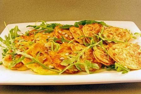 Pannenkoekjes met pompoen en feta - Junnekes recepten
