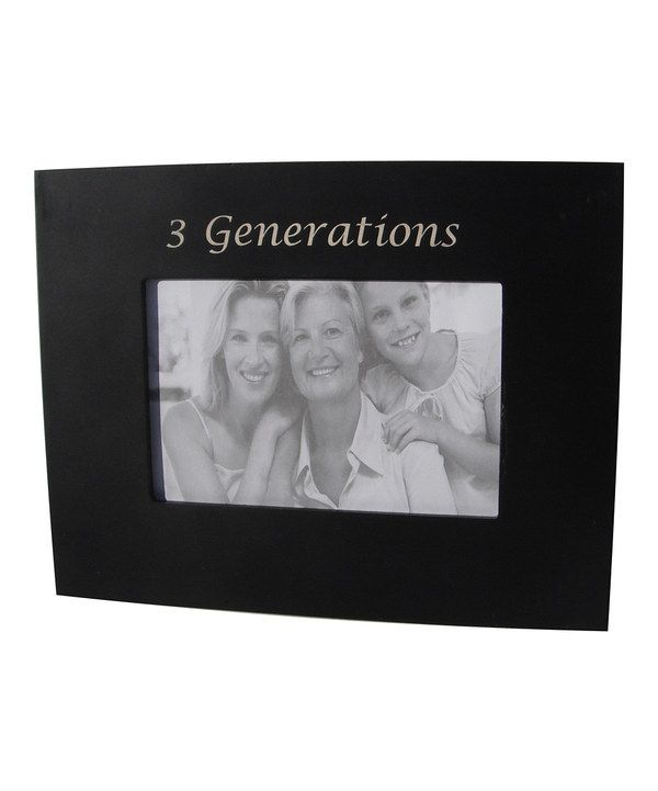 Another great find on #zulily! Black \'3 Generations\' Frame by Havoc ...