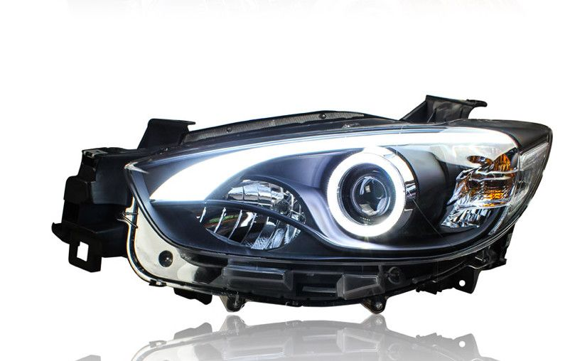 Vland Factory For Car Headlight For Cx 5 Headlight 2012 2013 2015 For Cx5 Led Headlamp With Xenon Lens And Day Light Car Headlights Led Headlamp Waterproof Led