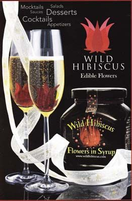 Wild Hibiscus Flowers In Syrup Hibiscus Flowers Gourmet Recipes Cocktail Desserts