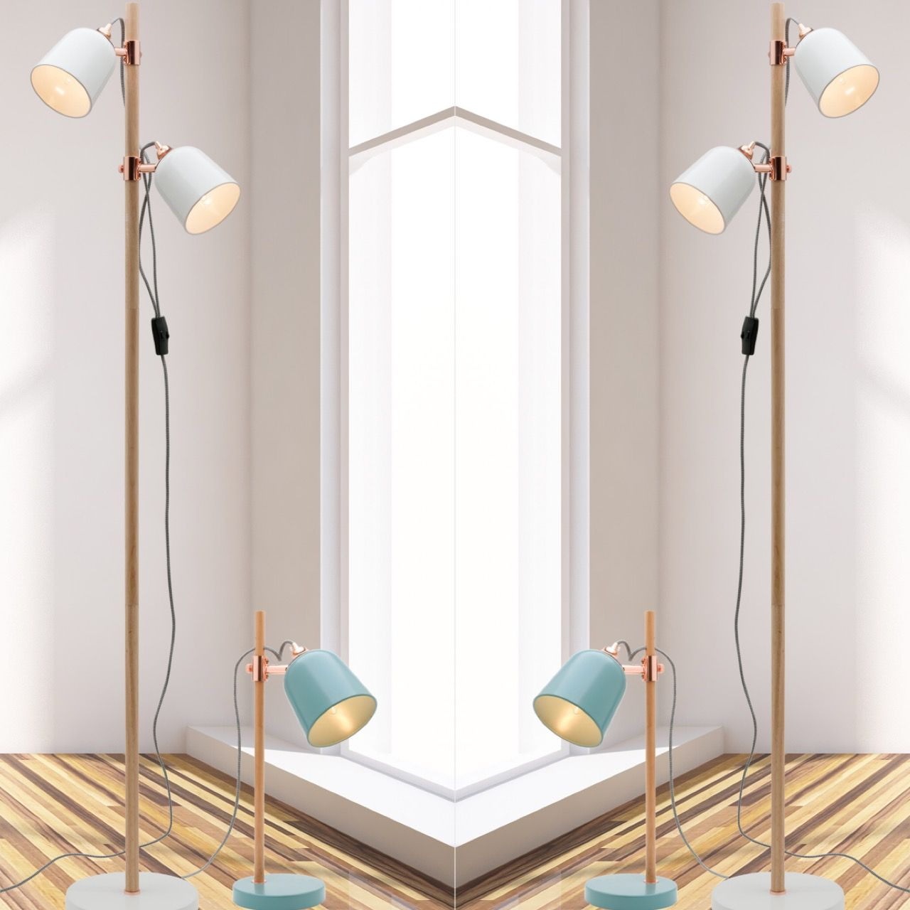 Cuba Table Lamp And Cuba Floor Lamp Available In Duck Egg And White At Www.