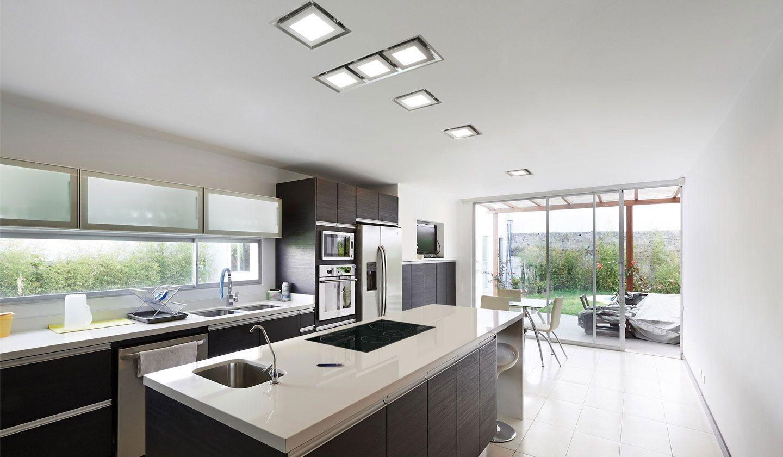 Paradigma 3p cocinas cocinas rectangulares cocinas y for Modelos de cocina comedor modernos
