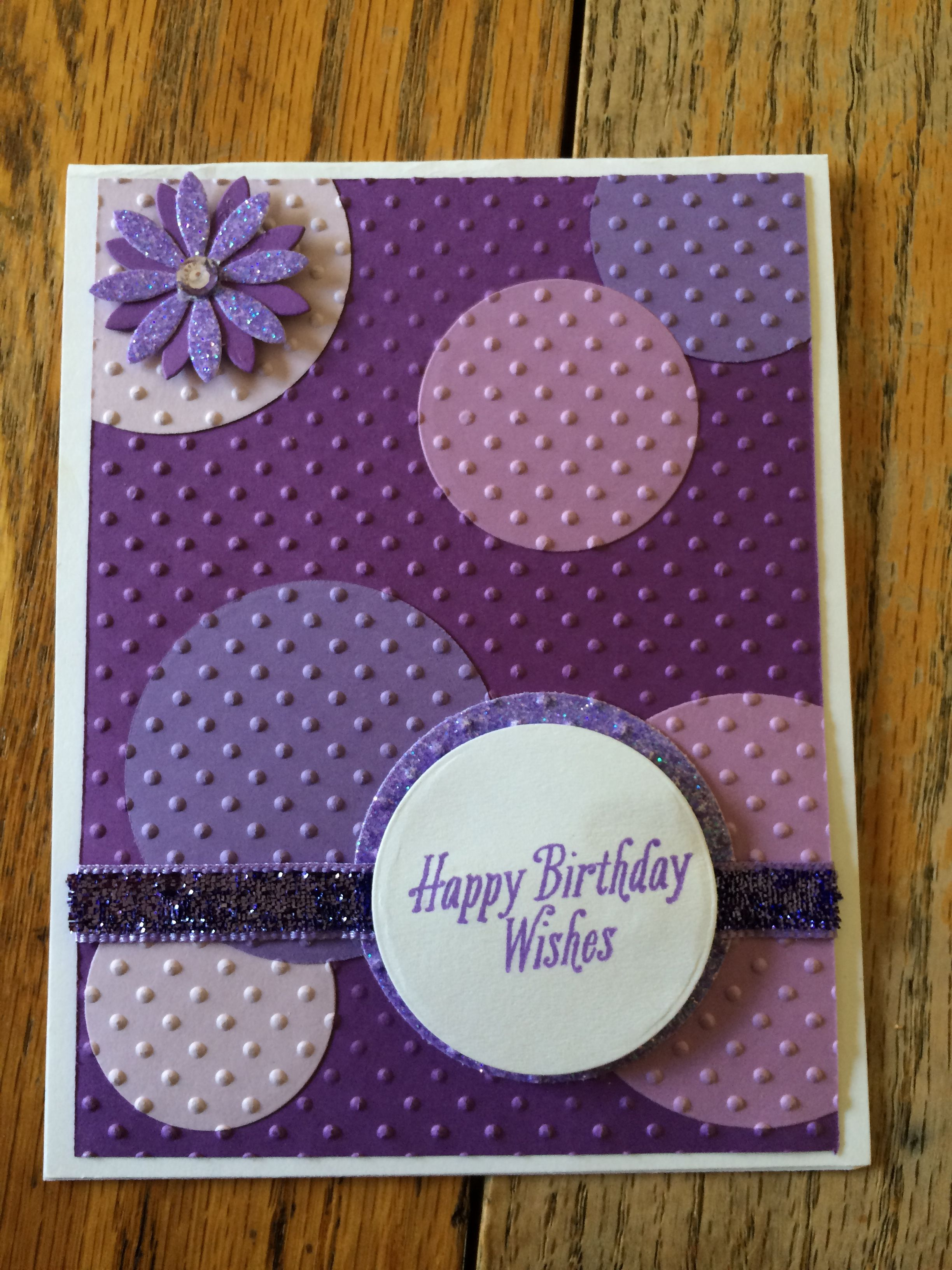 Cricut Birthday Cards Homemade For Women Happy