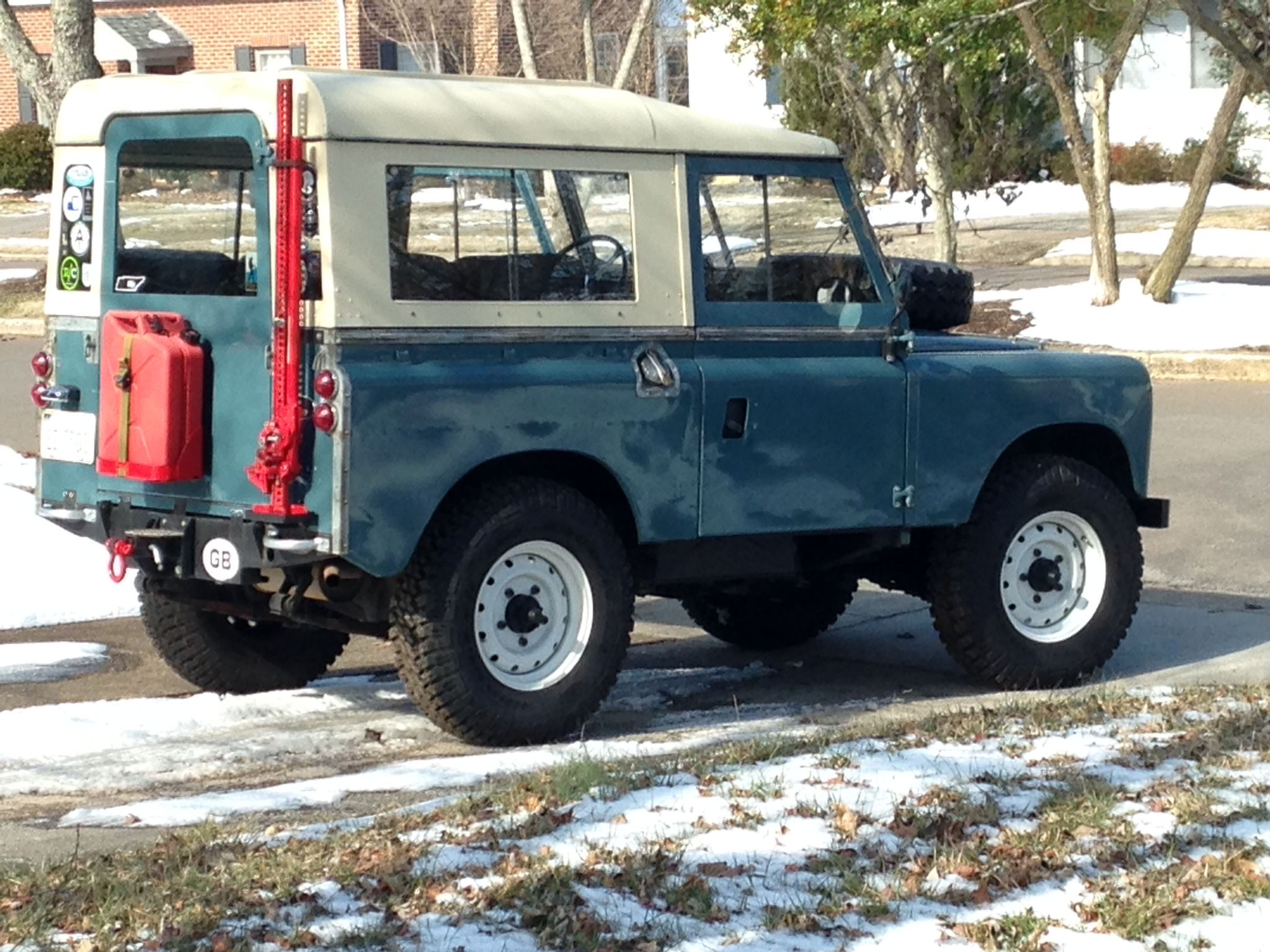 My 1965 Land Rover Series 2a Land Rover Series Land Rover
