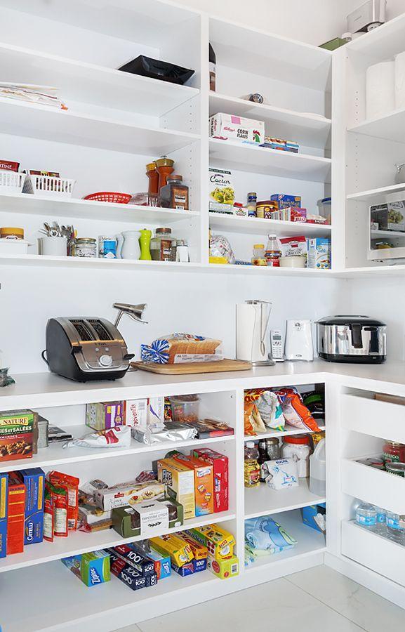 Garde manger walk in recherche google idee rangement - Garde manger cuisine ...
