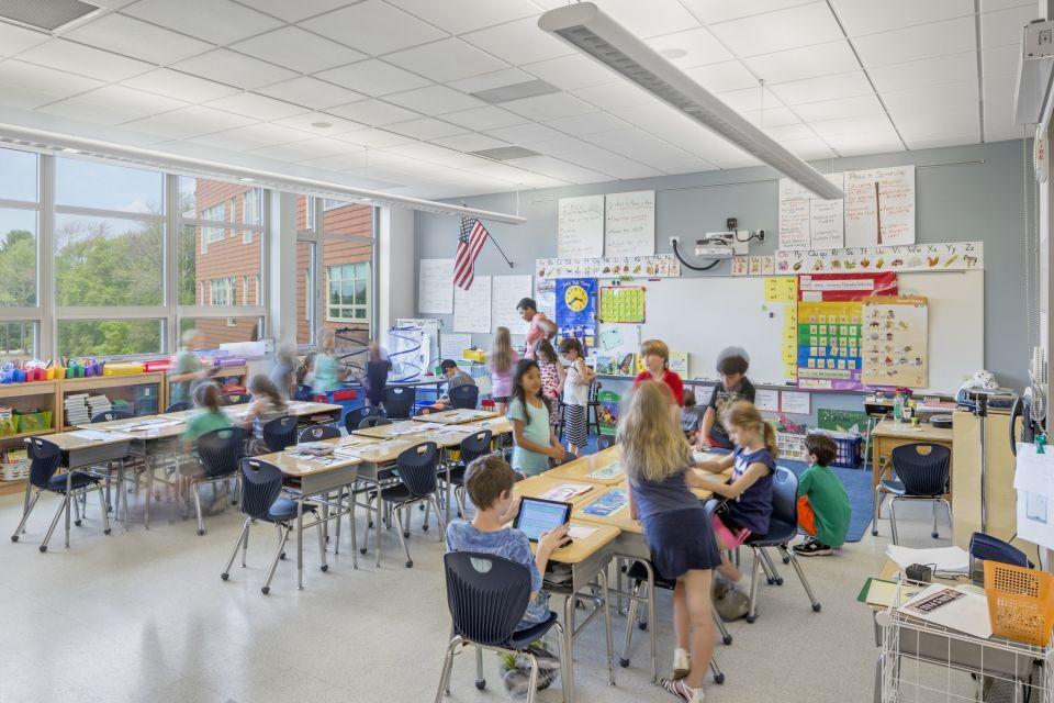 Bancroft Elementary School Classroom Design by SMMA in 2020 ...