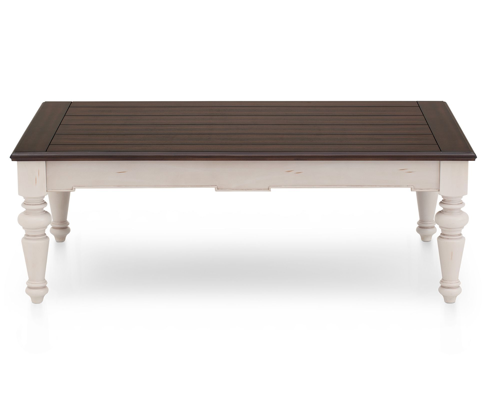 The Cottage Inspired Meadow Coffee Table Fits A Variety Of Room Styles In Two Toned Rubbed Finish Of Rich Mah Mahogany Coffee Table Coffee Table Rowe Furniture