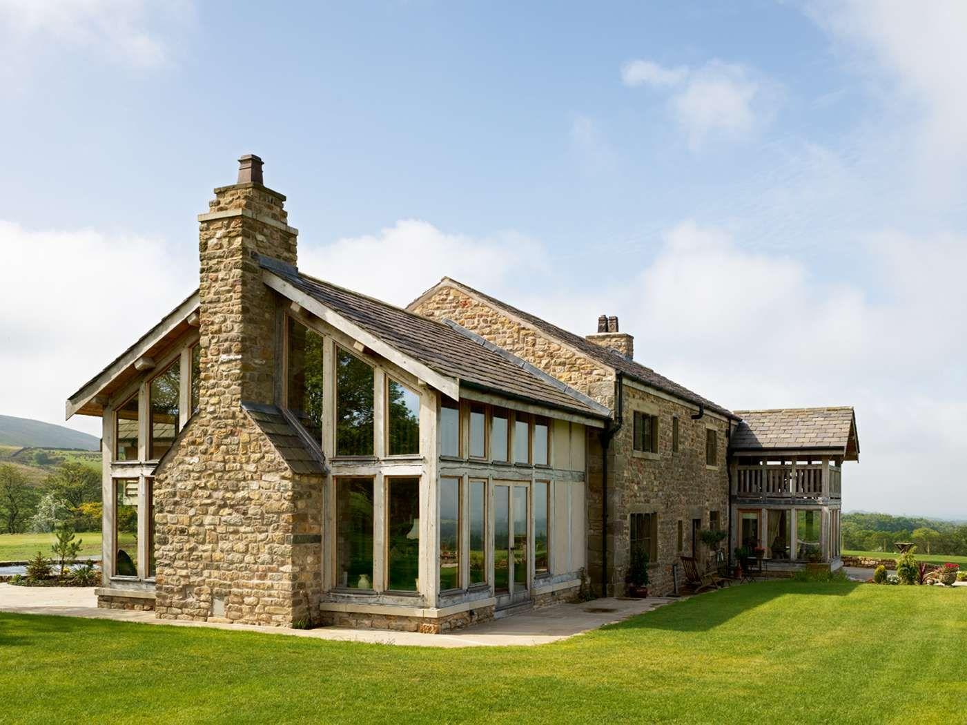 Stunning barn conversion homebuilding renovating for Barn renovation