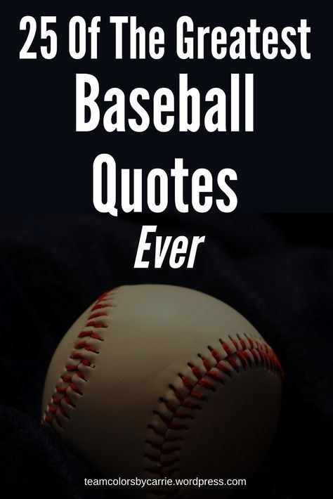 Photo of 25 of the Greatest Baseball Quotes Ever