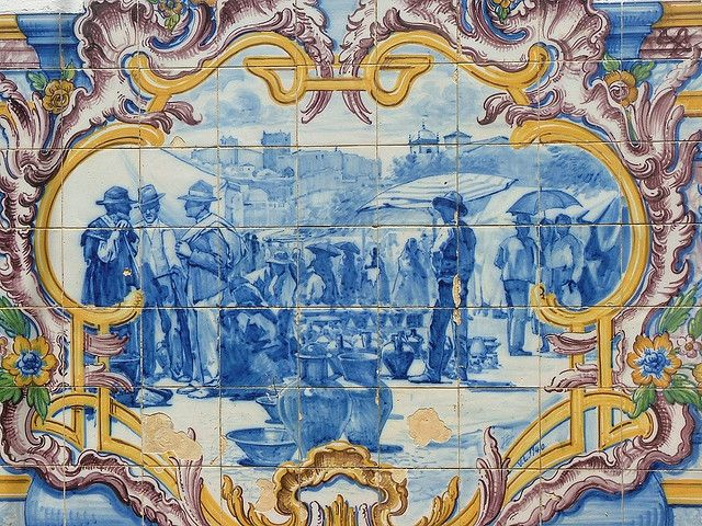 Estremoz, Azulejos da antiga Estação de Comboios