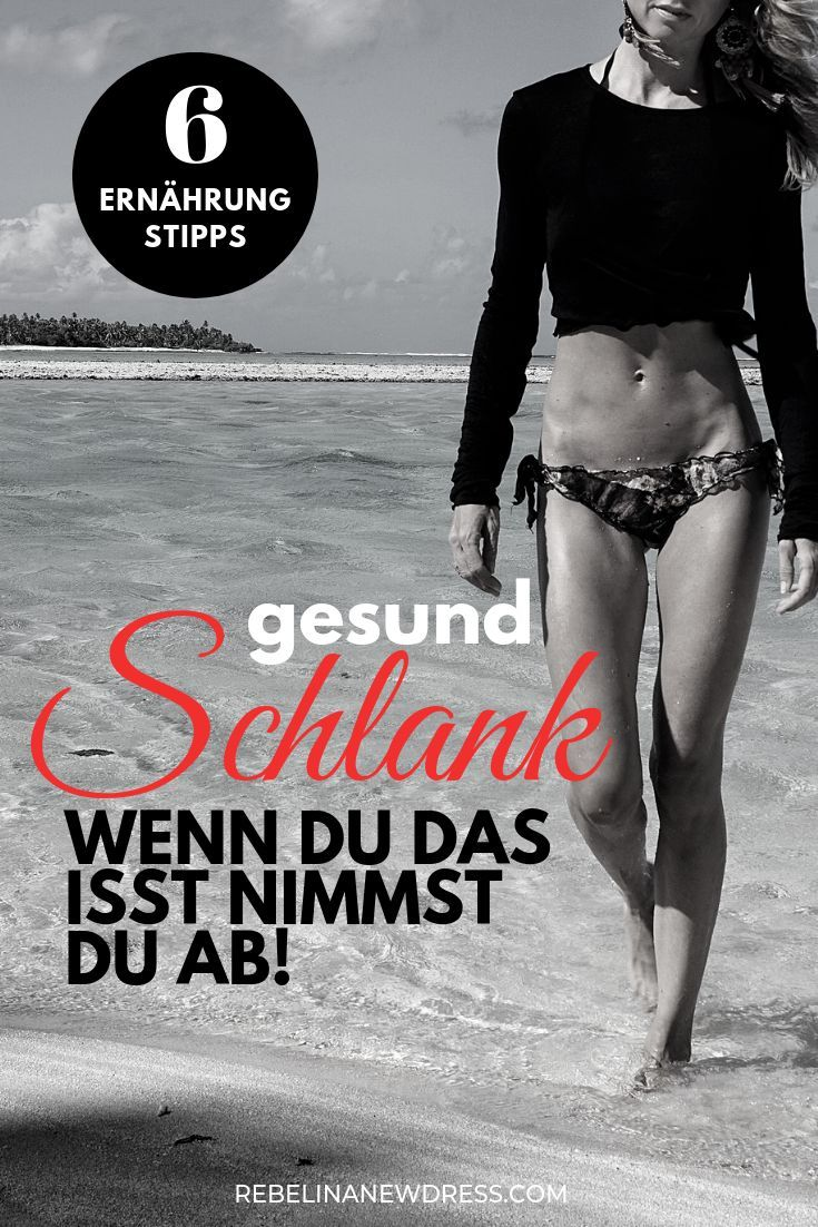 Wie machst du das, dass du so schlank bist? – REBEL IN A NEW DRESS