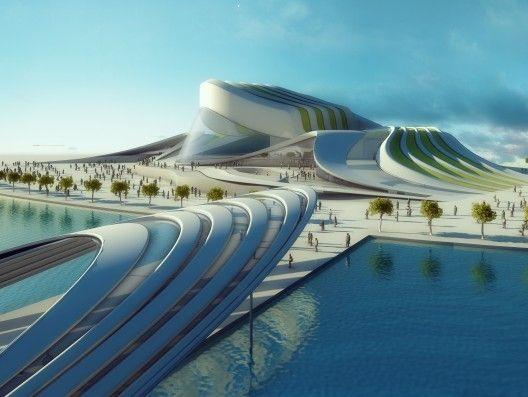 Organic Architecture Busan Opera House Proposal Diana Q De Saul Alejendro Munevar
