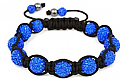 Thomas Gear Jewellers - Candy Bling CB11 - 11 Ball Blue Crystal Bracelet