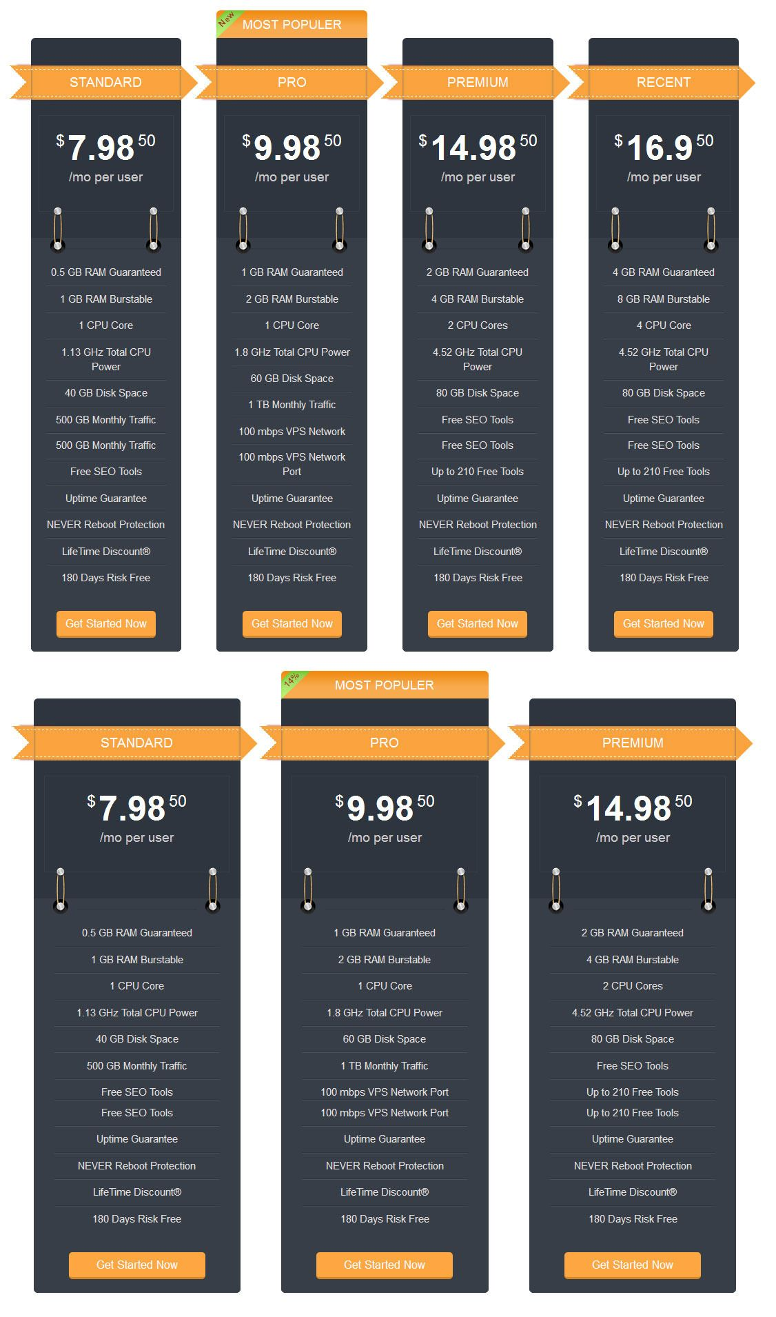 Awesome Pricing Table Pricing table, Column design, Awesome