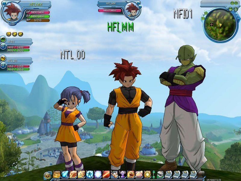 Image result for dragon ball online game wallpaper