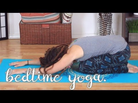 bedtime sequence  15 minute flow you can do while in bed