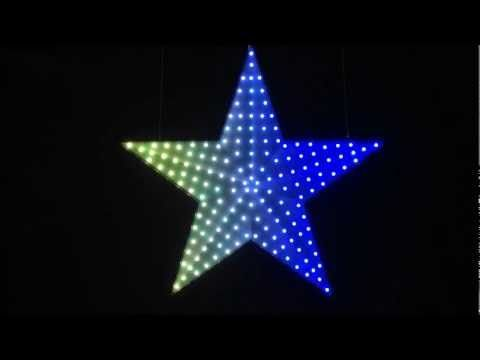 Led star 101 rgb led chaser controlled by an arduino and wave jt smart led star aloadofball Choice Image