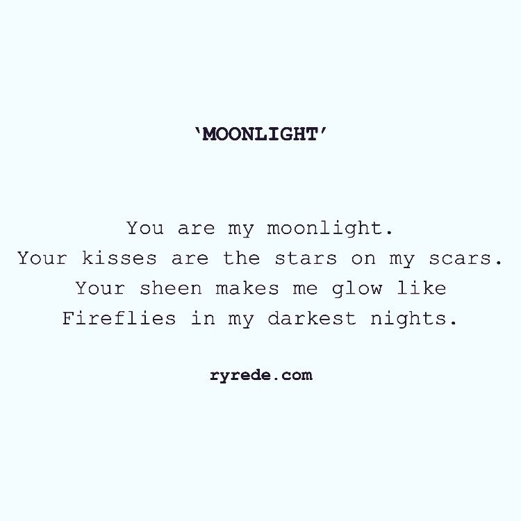 Charmant Quote #22   Moonlight By @priyanka_ryrede On Instagram