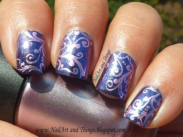 Nailart And Things Indian Wedding Nail Art 3 Pinterest