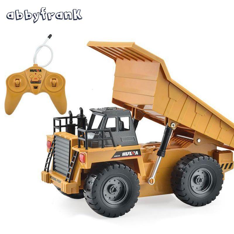 RC Car Truck Dumper Engineering Vehicles Metal Multi