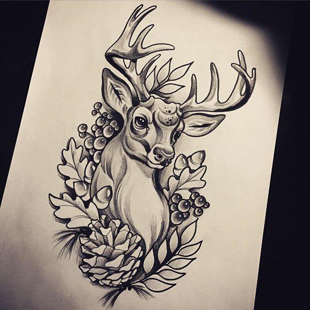 Pin Em Neo Traditional Tattoo