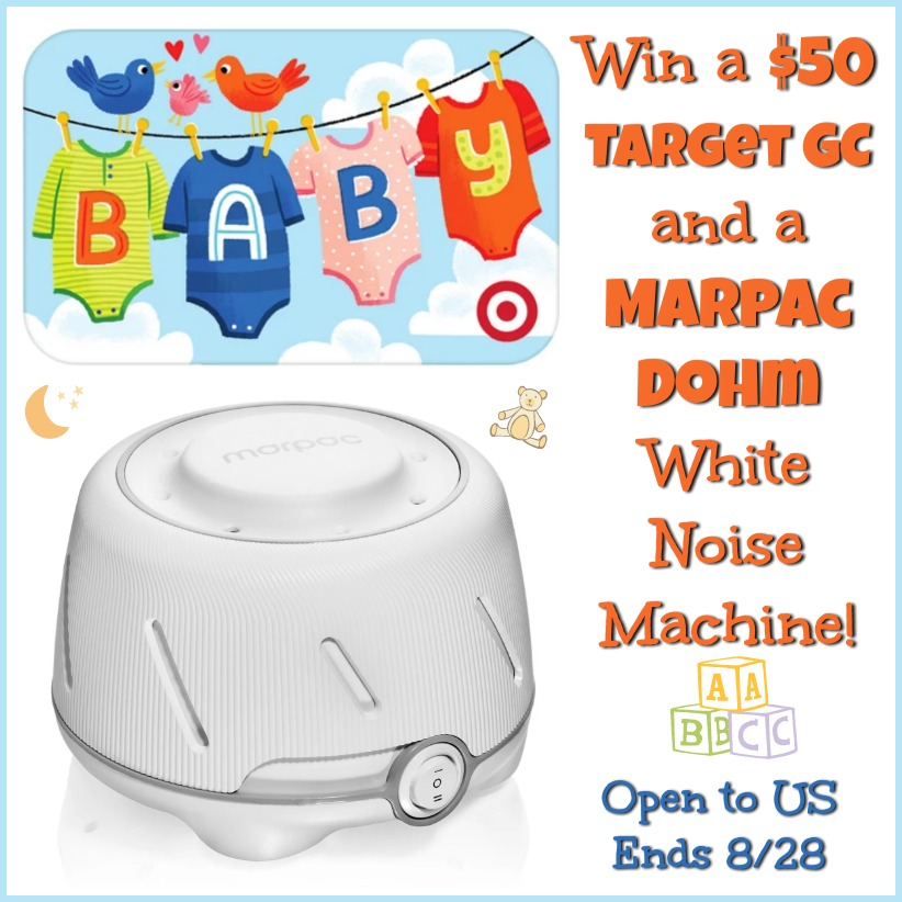 New Mom Giveaway! Win a 50 Target GC and a Marpac Dohm