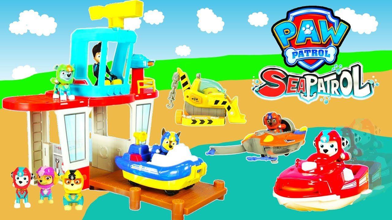 Paw Patrol Pirate Beach Tower Adventure Paw Patrol Sea Patrol Tower Toy And Fun Kids Adventure Kids Adventure Kids Toys Paw Patrol