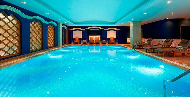 Valencia Espana Hotel Westin Valencia Valencia With Images Indoor Pool Pool Indoor Swimming Pools