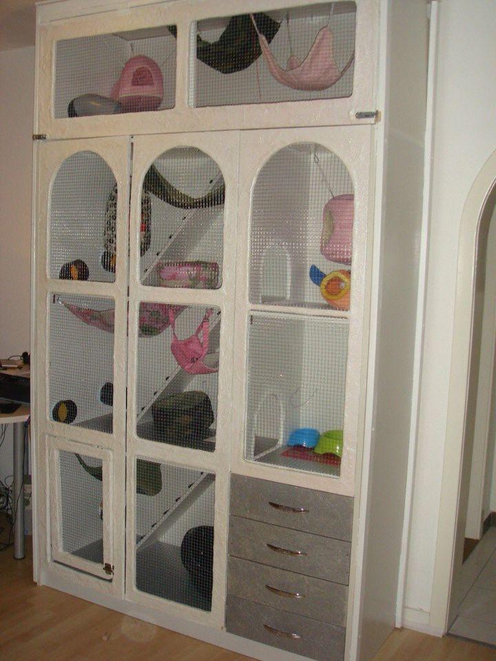 cage pour furet. Black Bedroom Furniture Sets. Home Design Ideas