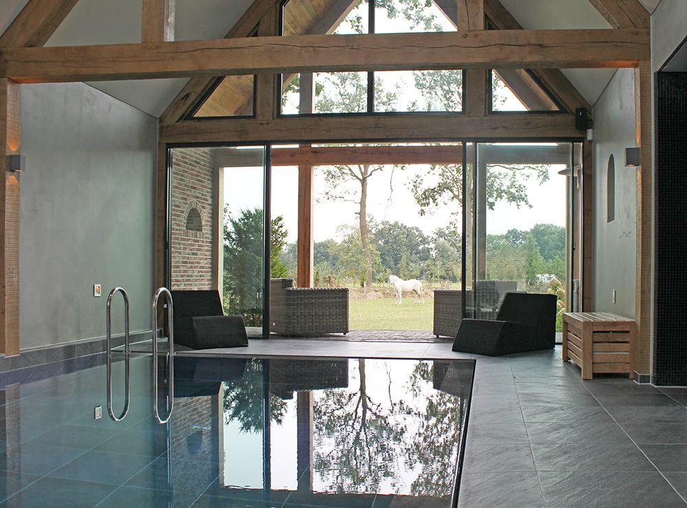 Glazen schuifpuien van minimal windows. www.busscher serres.nl
