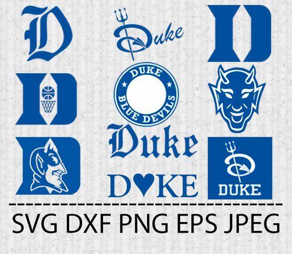 ea7b743771c SVG Duke Blue Devils Logo Vector Layered Cut File Silhouette Cameo Cricut Design  Template Stencil Vi