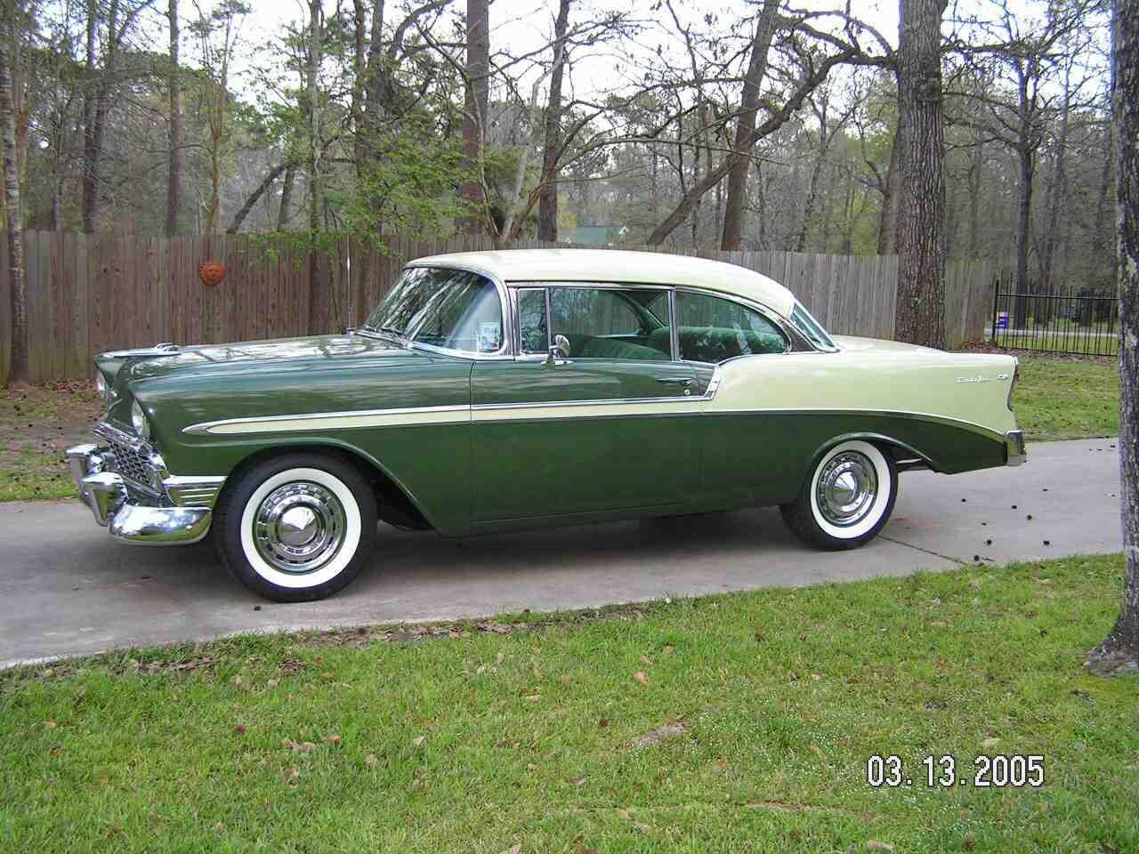 1956 Chevy Bel Air Hard Top 2 Door Chevy Bel Air Dream Cars Chevrolet Bel Air