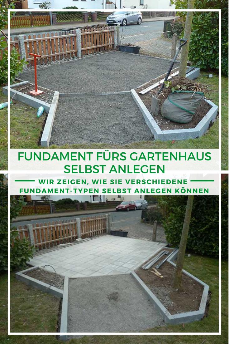 Gartenhaus Bauen Das Fundament Furs Gartenhaus Gartenhaus Bauen Gartenhaus Fundament Gartenhaus