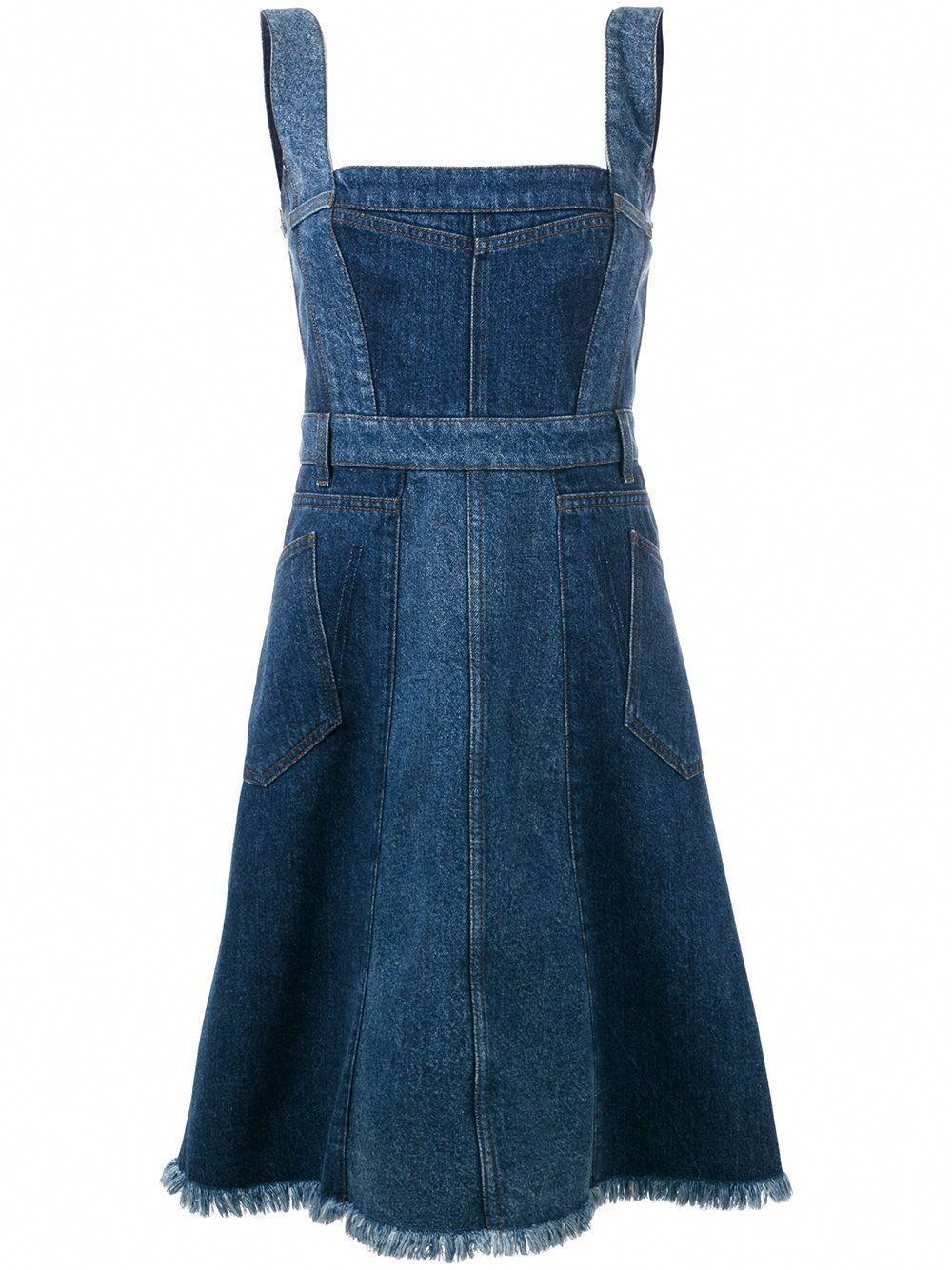 854f8df30b9 Robe en jean Alexander McQueen - 20 robes en jean pour être chic en denim -  Elle  AlexanderMcQueen