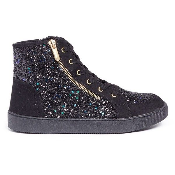 36317a101058c Sam Edelman  Britt Roxy  glitter kids high-top sneakers featuring polyvore