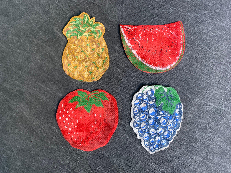 60 S Coasters Foam Fruit Drink Coaster Pineapple Etsy Fruit Drinks Etsy Drink Coasters