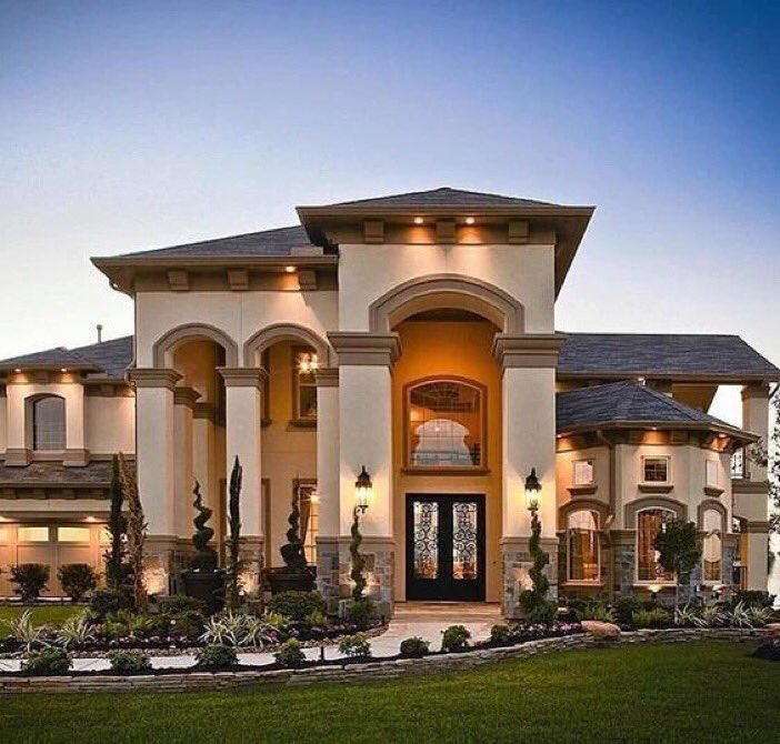 15 Utterly Luxurious Mediterranean Mansion Exterior: Pin By Morgan Ansell On Future!!