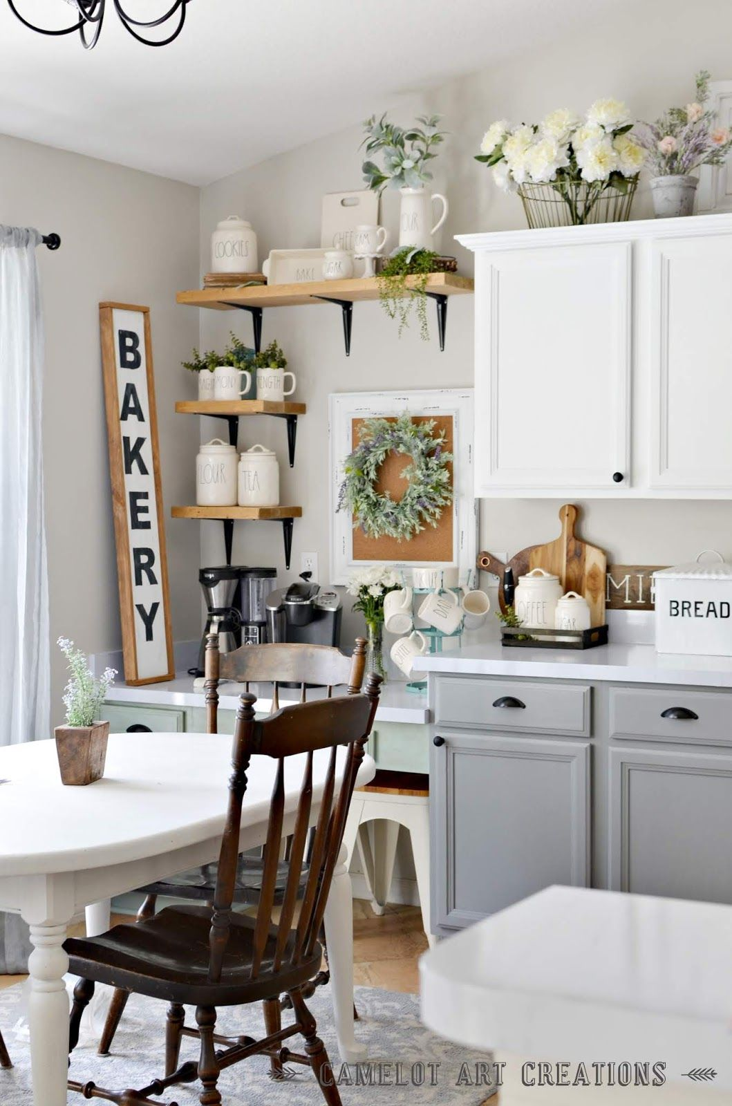 Camelot art creations 5 tips to creating a farmhouse kitchen