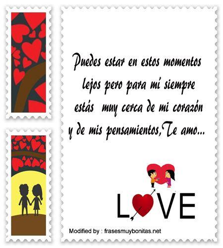 Tarjetas Con Mensajes Muy Bonitos Para Mi Amor Pinterest Frases
