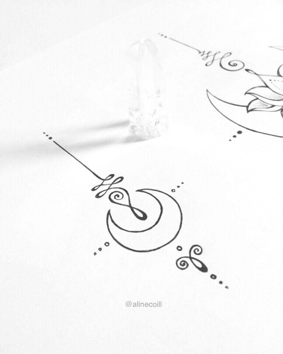 Resultado de imagen para unalome vector   tatoo   Pinterest ...