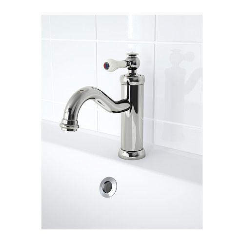HAMNSKÄR Bath faucet with strainer, chrome plated Pinterest