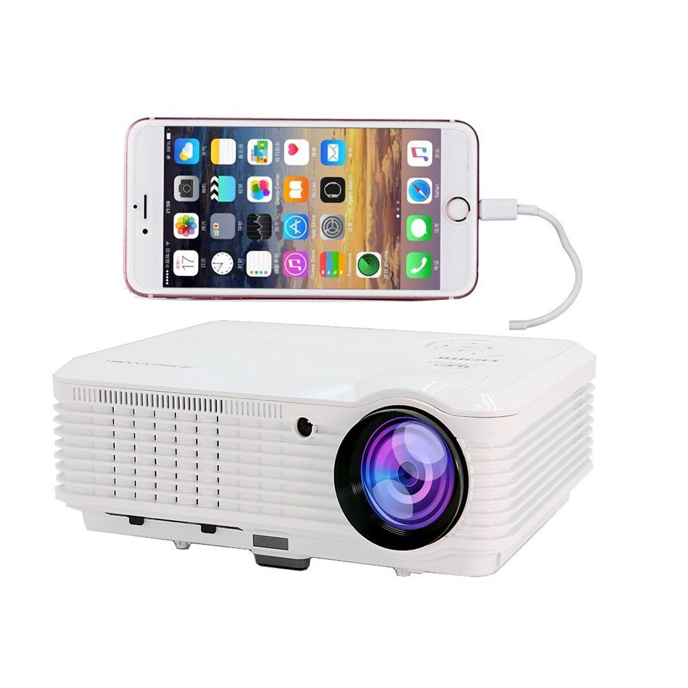 Home Theater Projectors 1080p 3600 Lumens, Home Cinema Video ...