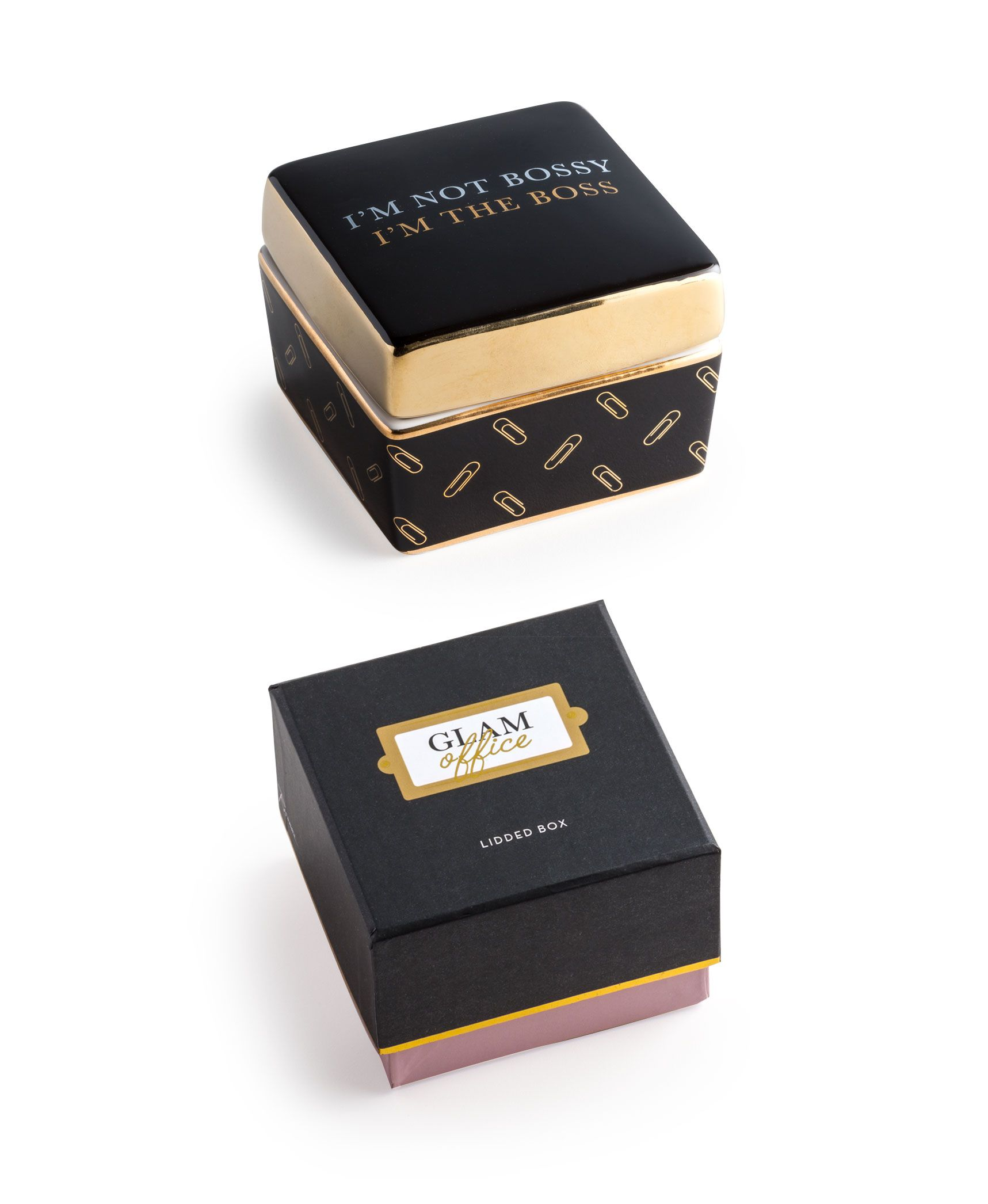 Merveilleux Glam Office Box Iu0027m Not Bossy | Tableware And Home Decor Seattle, WA