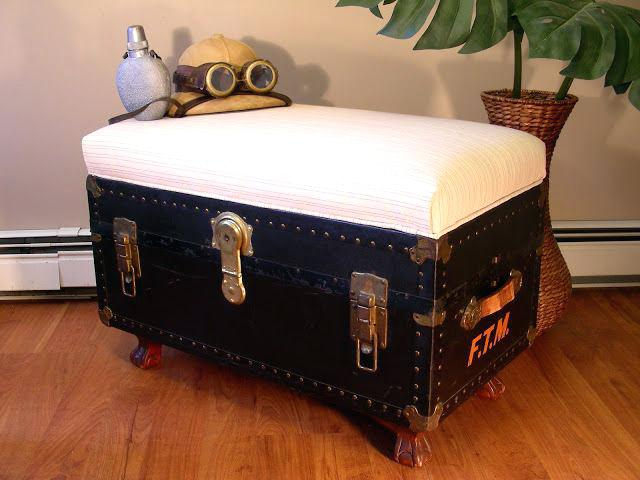 How To Refinish Old Trunk Or Chest Painting Old Trunks Incredible