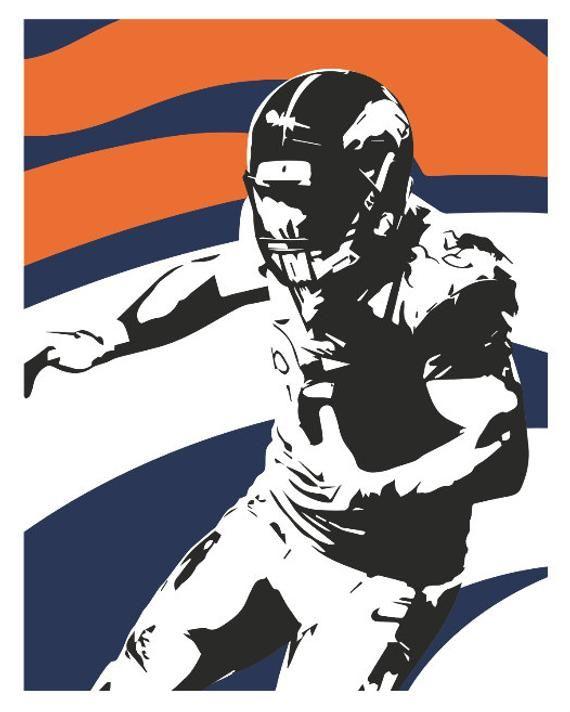 Denver Broncos poster Broncos, Poster, Poster on