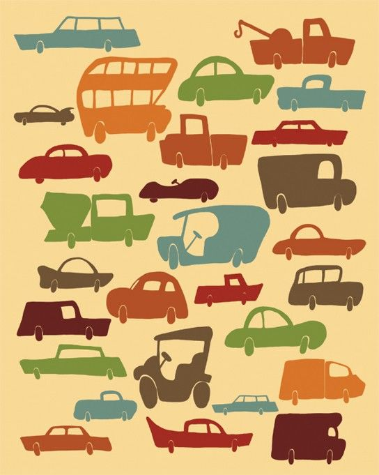 cars print trucks print kids print art transportation poster automobiles cars trucks bedroom decor transportation automobiles kids art print - Cars Pictures To Print