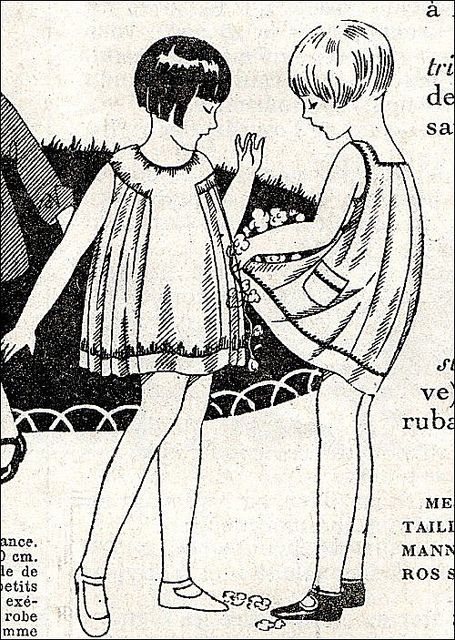 the 1920s-vintage kids clothes by april-mo, via Flickr