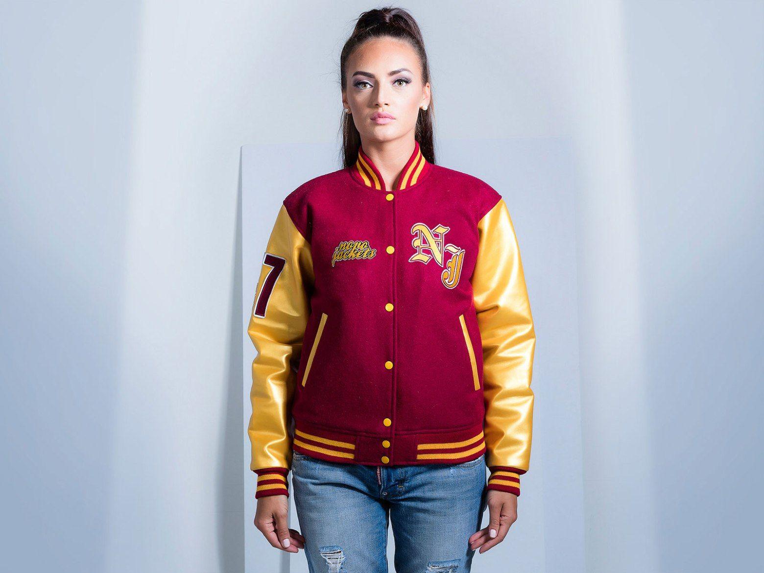 Women Custom Varsity Jacket Leather varsity jackets