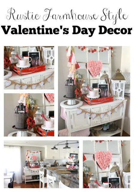 Rustic Valentine S Day Buffet Valentines Decor